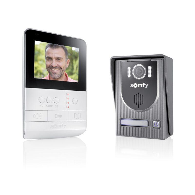 Visiophone V100 - Visiophone Portier vidéo | La Boutique Somfy