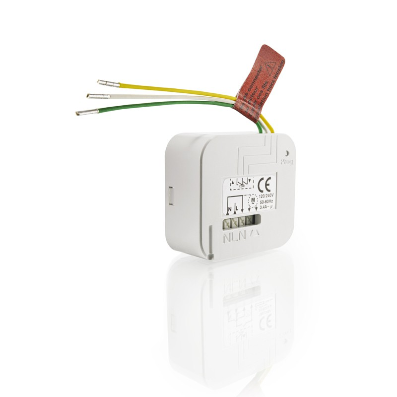 Micro module r cepteur de volet roulant la boutique somfy for Interrupteur radio commande a distance
