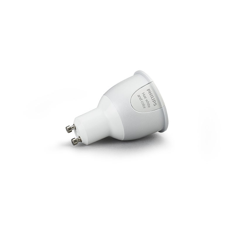 Culot Ampoule Hue Led – Gu10 Philips Connectée QdCstrhx