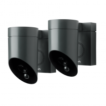 Lot de 2 Somfy Outdoor Camera Grise