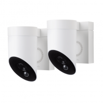 Pack de 2 x Somfy Outdoor Camera blanches
